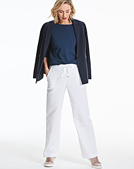 Linen Mix Trousers Short