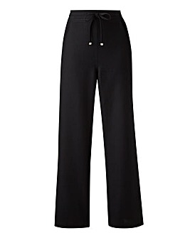 Extra Short Easy Care Linen Mix Trousers