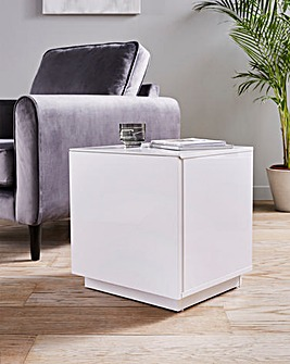 Allure High Gloss Side Table