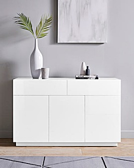 Allure High Gloss 3 Door 2 Drawer Sideboard