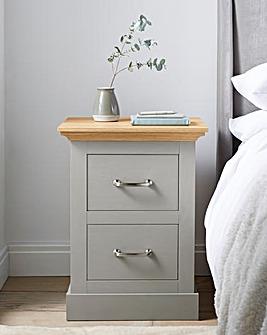 Ashford 2 Drawer Bedside Table