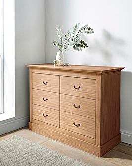 Ashford 6 Drawer Wide Chest