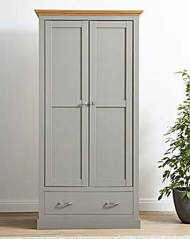 Ashford 2 Door 1 Drawer Wardrobe