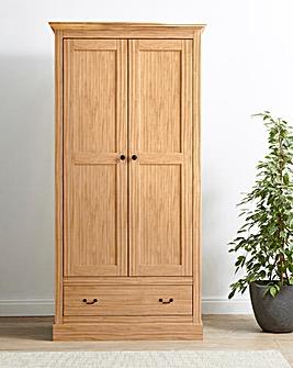 Ashford 2 Door 1 Drawer Wardrobe