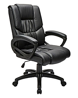 Boston Faux Leather Office Chair