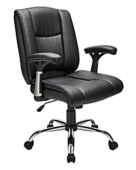 Clinton Faux Leather Office Chair