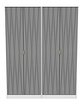 Remi 4 Door Wardrobe