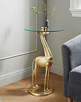 Joe Browns Exclusive Giraffe Side Table