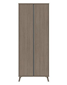 Alba Assembled 2 Door Wardrobe