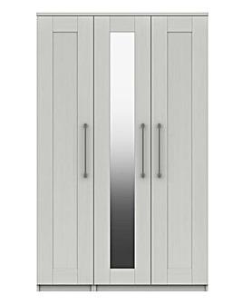 Warwick 3 Door Wardrobe with Mirror