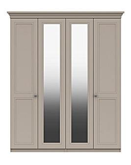 Harpenden 4 Door Wardrobe with Mirror