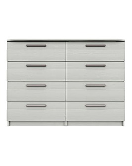 Newport Assembled 4 plus 4 Drawer Chest