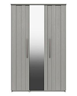 Newport 3 Door Wardrobe with Mirror