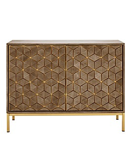 Zahara Assembled Mango 2 Door Sideboard