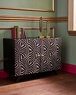 Joe Browns Contemporary Zebra Print Sideboard