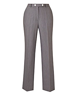 Tailored Straight Leg Trousers Petite