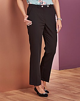 Tailored Straight Leg Trousers Reg