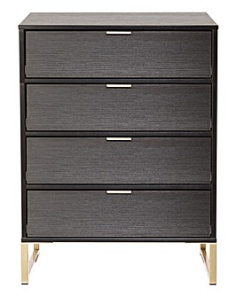 Kadence Assembled 4 Drawer Chest