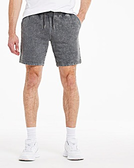 Acid Wash Jog Shorts