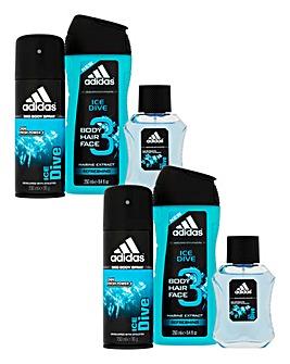 Adidas Ice Dive Gift Set BOGOF
