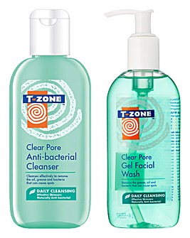 T-Zone Clear Pore Face Wash & Cleanser Set
