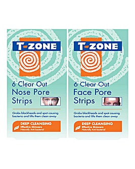 T-Zone Clear Out Pore Strips Set