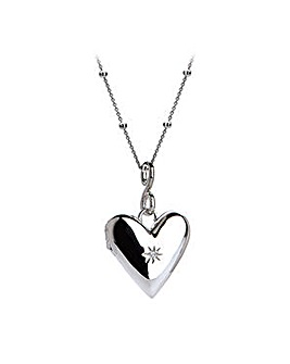 Hot Diamonds Heart Locket Pendant