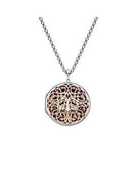 Hot Diamonds Shelter Circle Locket