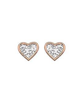 Hot Diamonds Faith Heart Earrings
