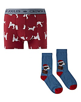 Joules Put A Sock In It Gift Set