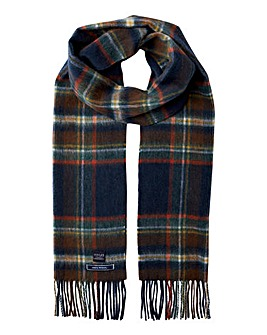 Joules Tytherton Wool Check Scarf