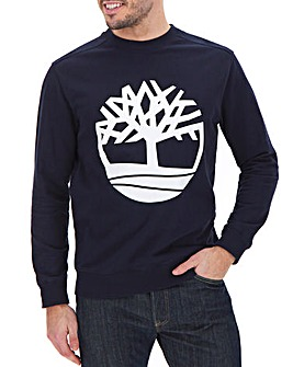 Timberland Tree Logo Crew Sweat