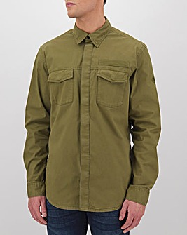 Timberland Smith Military Stretch Twill Overshirt