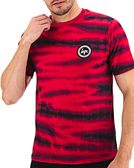 Hype Mulberry Tie Dye T-Shirt Long