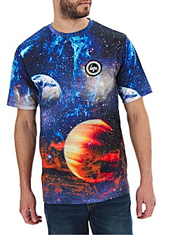 Hype Sunburst T-Shirt Long