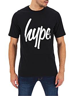 Hype Script T-Shirt Long