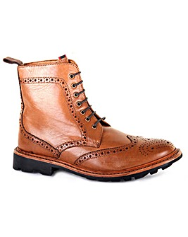 Chatham Stratton Welted Brogue Boots