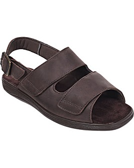 Cosyfeet Boris Extra Roomy (3H Width) Men's Sandals