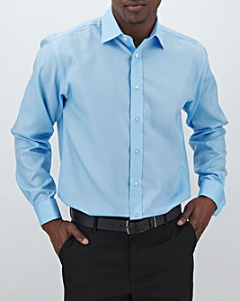Double Two L/S Non Iron Double Cuff Shirt