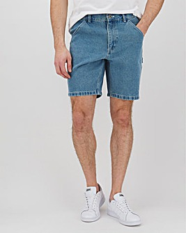 Voi Denim Carpenter Shorts