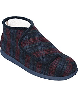Cosyfeet Robbie Warm-lined Extra Roomy (3H Width) Men's Slippers