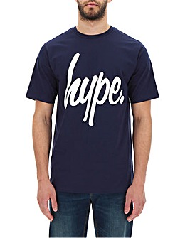 Hype Script T-Shirt Long