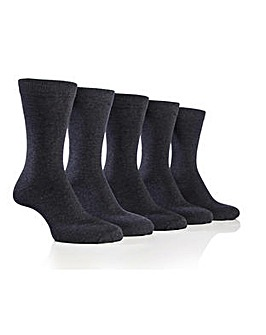 5 Pack Farah Plain Socks