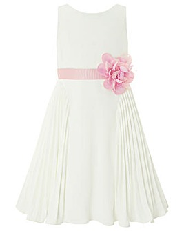 Monsoon Daisy Pleat Dress