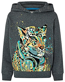 Monsoon Colourful Leopard Hoody