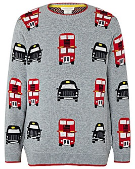 Monsoon Harold Bus Knit Jumper
