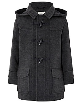 Monsoon Dominic Duffle Coat Grey