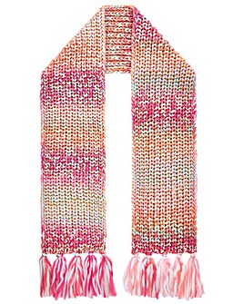 Monsoon Sabrina Space Dye Tassle Scarf