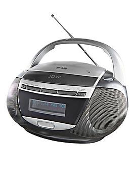 JDW DAB Radio CD Boombox