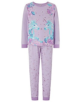 Monsoon Hensley Unicorn Jersey Pj